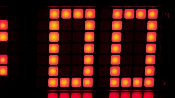 Thumbnail for Led Clock Counter, Alarm Time 2
