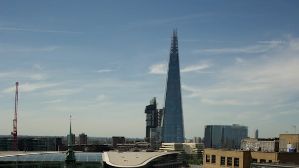 Shard Tower London Business District Financial England 2