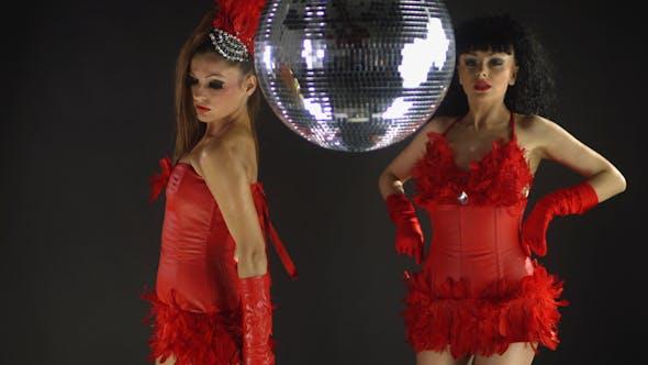 Thumbnail for Gogo Dancer Burlesuqe Disco Girl 5