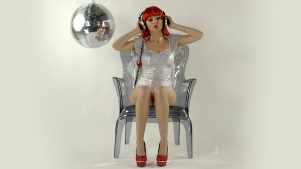 Thumbnail for Gogo Dancer Burlesuqe Disco Girls 1