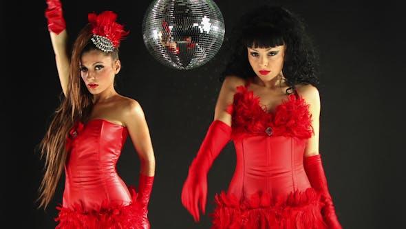 Thumbnail for Gogo Dancing Burlesuqe Disco Girls 1
