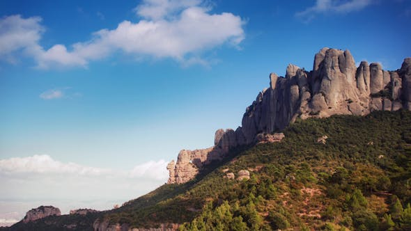 Thumbnail for Montserrat Mountain Range Spain 3