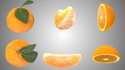 Orange Rotating