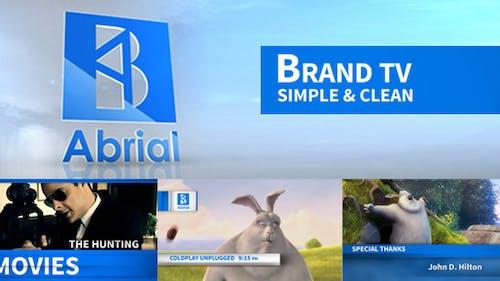 Brand TV Simple & Clean