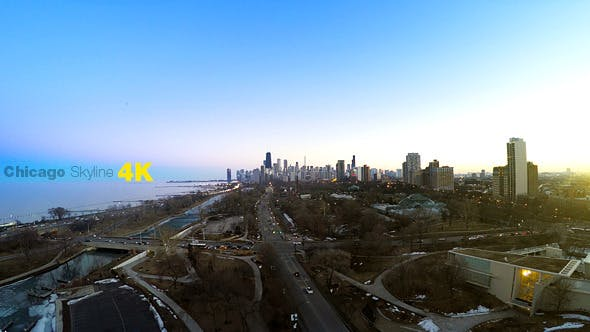 Thumbnail for Late Winter Chicago Sunset