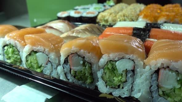 Thumbnail for Japan Traditional Seafood Sushi