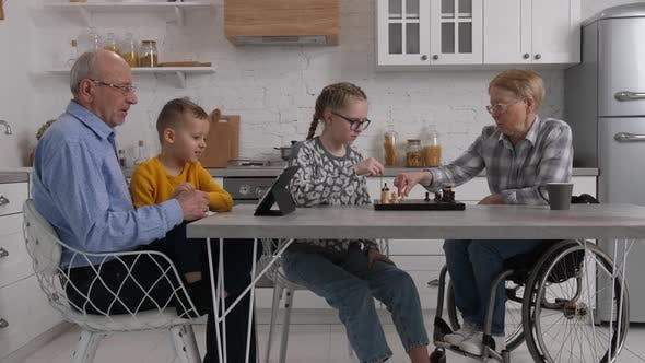 Thumbnail for Domestic Leisure of Grandparents and Grandchildren