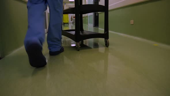 Hospital Cleaning Staff