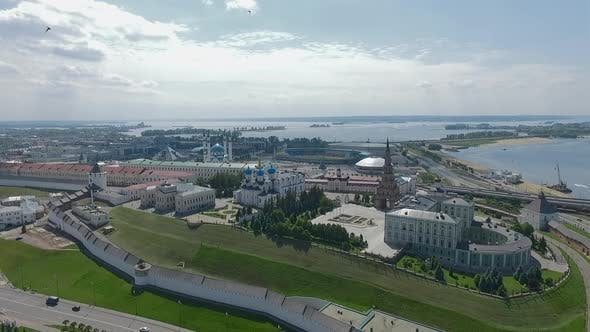 Thumbnail for Flying Over Historic Landmarks in Kazan, Russia