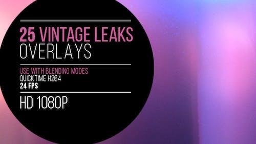 25 Vintage Light Leaks