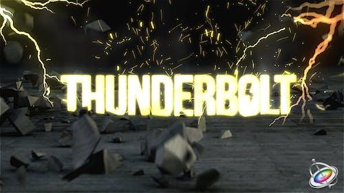 Thunderbolt Reveal - Apple Motion