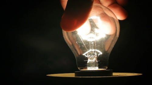 Light Bulb Screwed in