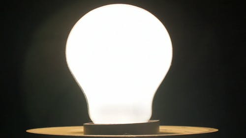 Light Bulb Flashing and Switched on