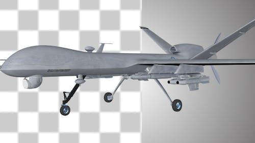 Militärische Predator Drohne