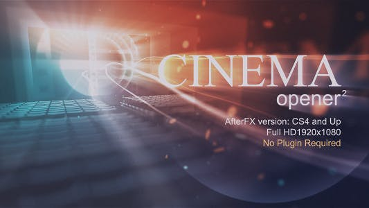 Thumbnail for Cinema Opener 2