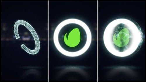Midnight Glow Logo Reveal
