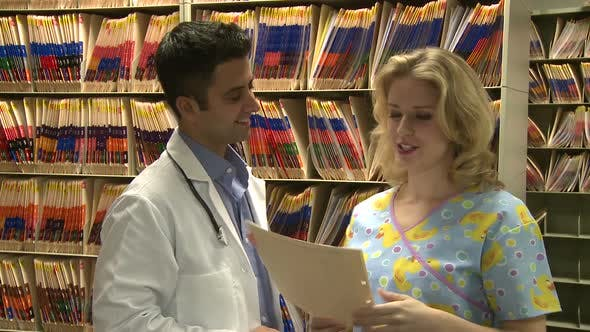 Thumbnail for Doctor And Nurse Review Chart (1 Of 4)