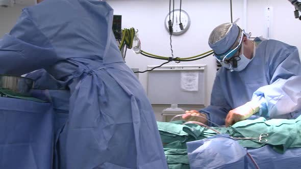 Thumbnail for Medical Team During Surgery (1 Of 4)