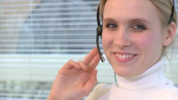 Thumbnail for Professional Female Wearing Headset (3 Of 7)