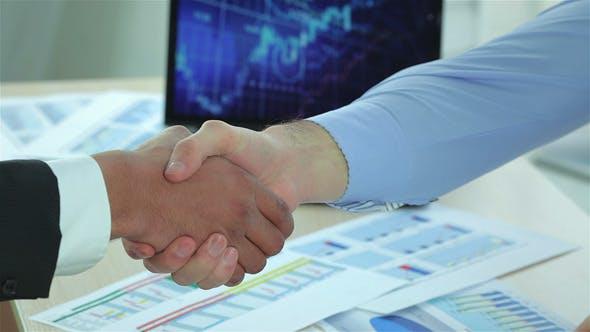 Thumbnail for Modern Business Handshake