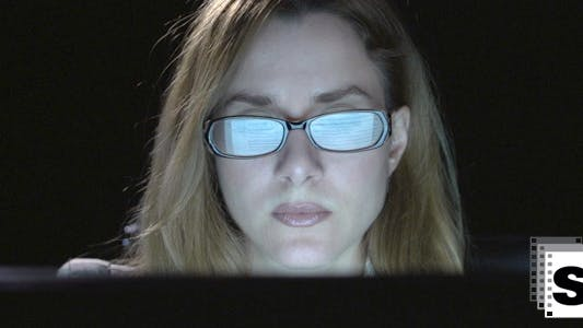 Thumbnail for Businesswoman Watching Computer