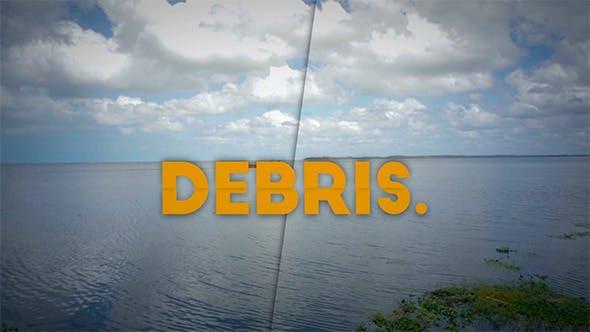 Thumbnail for Debris - Slideshow Typography
