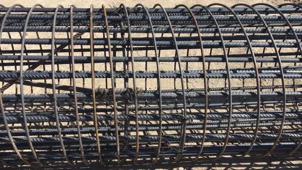 Thumbnail for Bridge Construction Under Performing The Steel Reinforcement Of Piling Work