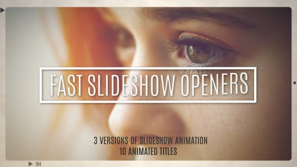 Thumbnail for Fast Slideshow Openers + 10 Titles