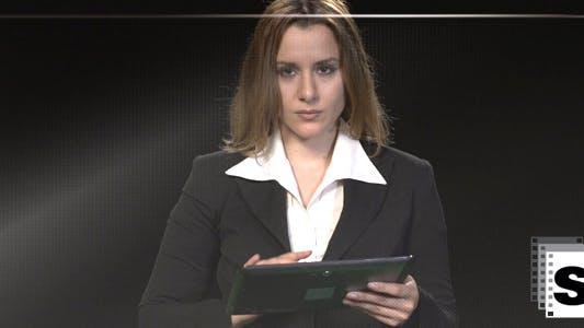 Thumbnail for Touchscreen Businesswoman