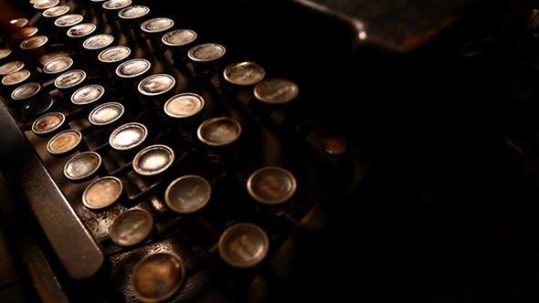 Thumbnail for Vintage Typewriter 416
