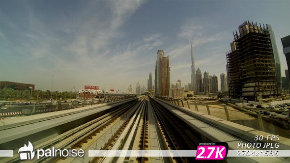 Thumbnail for Dubai Fast View From Train