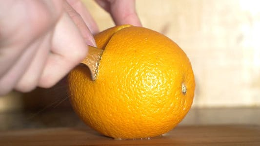 Thumbnail for Cutting An Orange 2