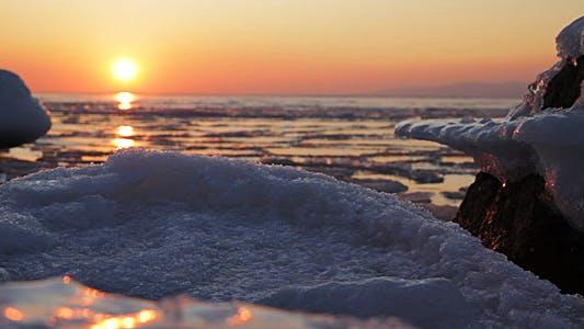 Thumbnail for Ice Blocks Sunset