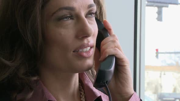 Thumbnail for Businesswoman On Phone Call (1 Of 4) 1