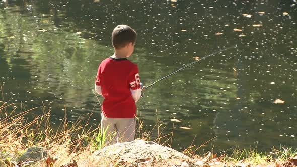 Thumbnail for Young Boy Fishing (6 Of 9)