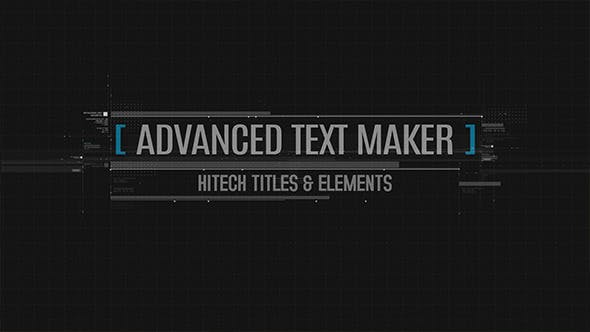 Thumbnail for Advanced Text Maker