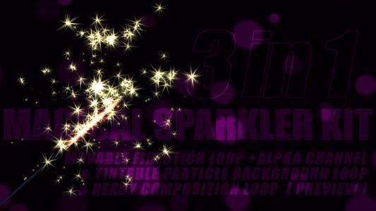 Magical Sparkler Kit