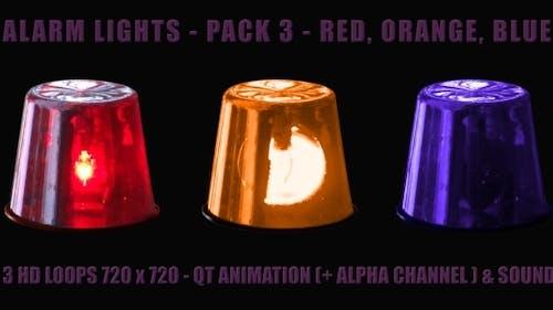 Alarm Light - Pack 3