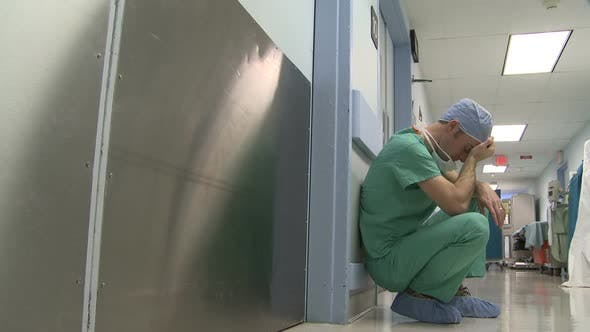 Job Stress Gets To A Young Surgeon