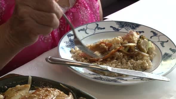 Sesame Chicken Dish 3