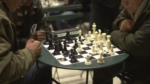 Thumbnail for Central Park Chess Match (4 Of 4)