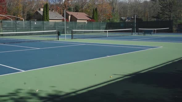 Thumbnail for Private Empty Tennis Courts (5 Of 5)