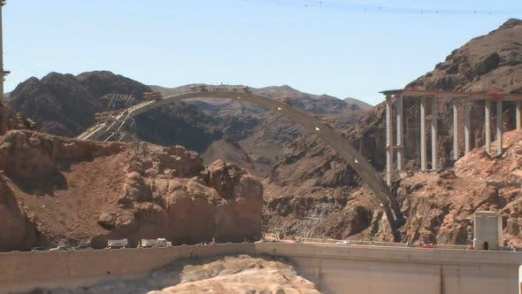 Thumbnail for The Hoover Dam Bypass Under Construction (4 Of 4)