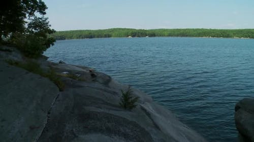 Tranquil Summer Reservoir (4 Of 5)