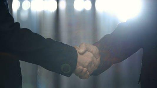 Thumbnail for Greeting Business Partner