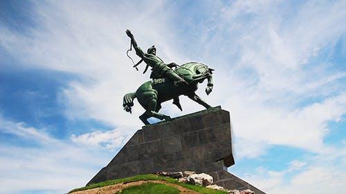 Salavat Yulaev Monument In Ufa Russia