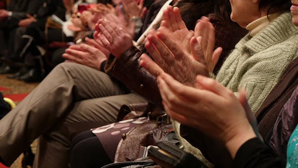 Thumbnail for People Hands In Hall Applause