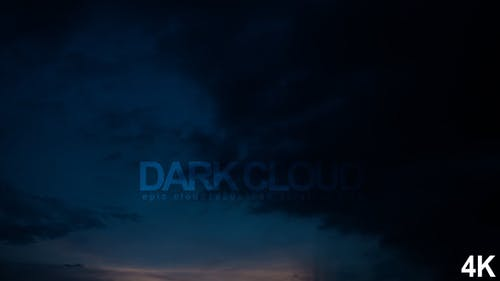 The Dark Creeping Cloud