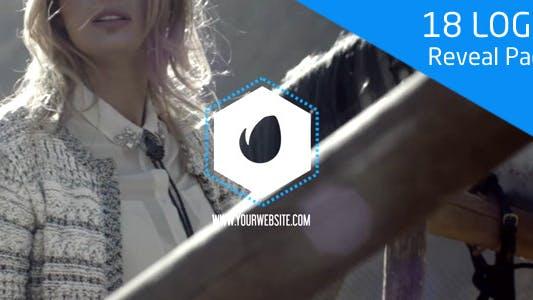 Thumbnail for 18 Logo Reveal Pack