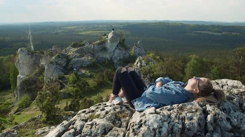Chilling on a Hilltop
